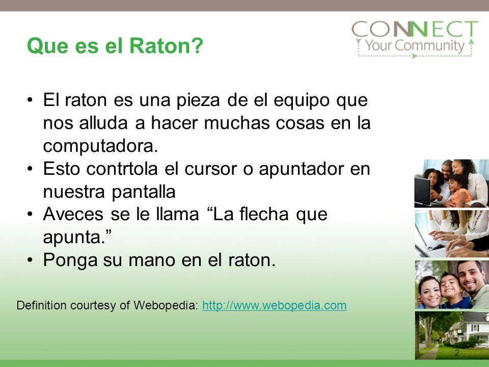2 Que es el Raton.