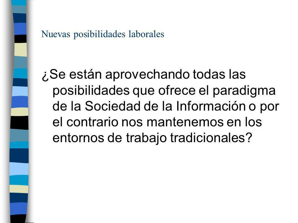 Nuevas posibilidades laborales La complejidad de la Administración Pública en España es una ventaja