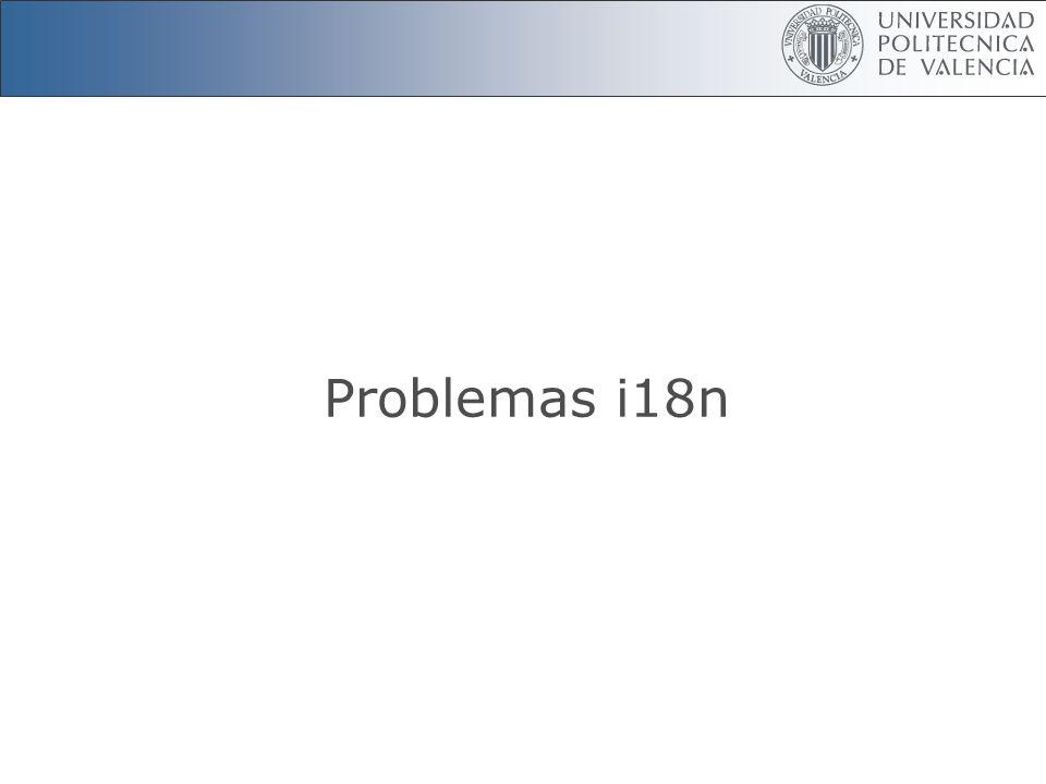Problemas i18n