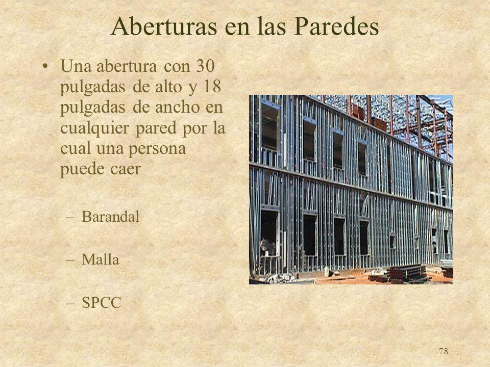 77 Construcción con Hormigón Preformado Barandal Malla, o SPCC