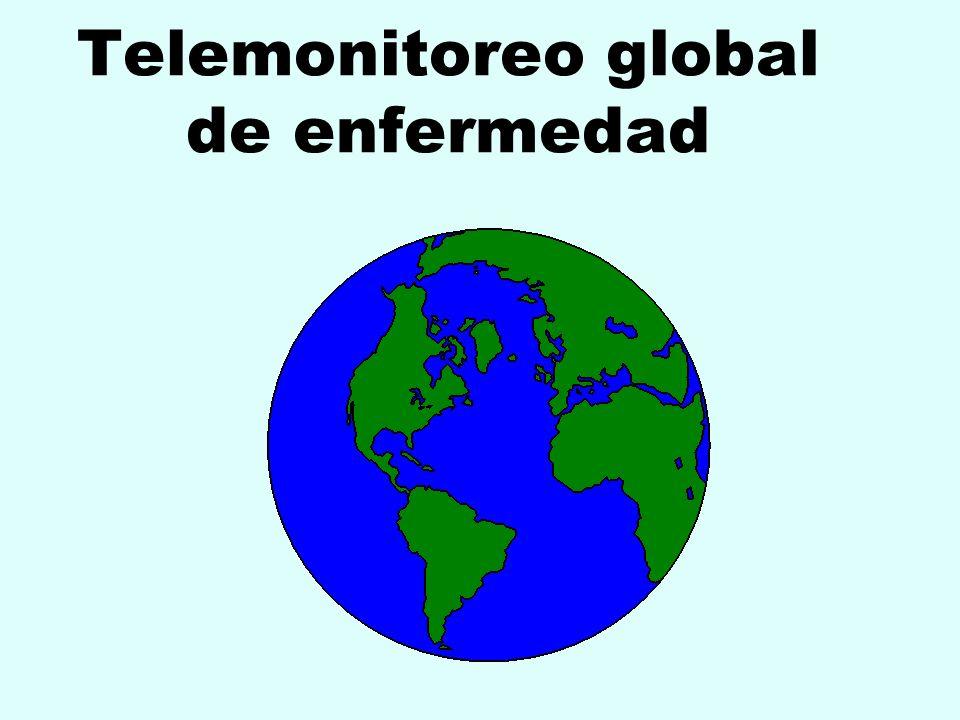 Telemonitoreo global de enfermedad