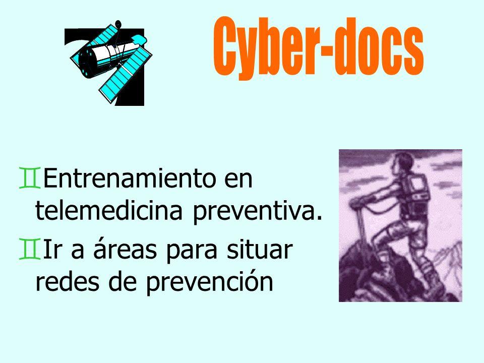 `Entrenamiento en telemedicina preventiva. `Ir a áreas para situar redes de prevención