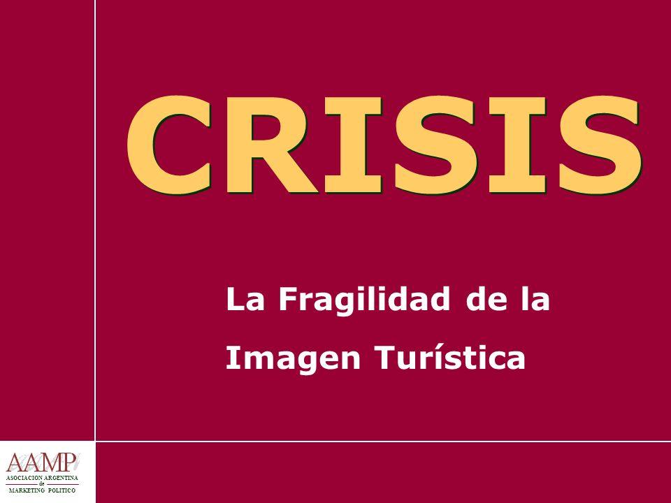 ASOCIACION ARGENTINA de MARKETING POLITICO CRISIS La Fragilidad de la Imagen Turística