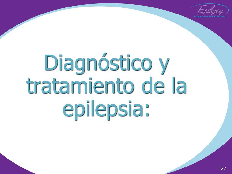 32 Diagnóstico y tratamiento de la epilepsia: