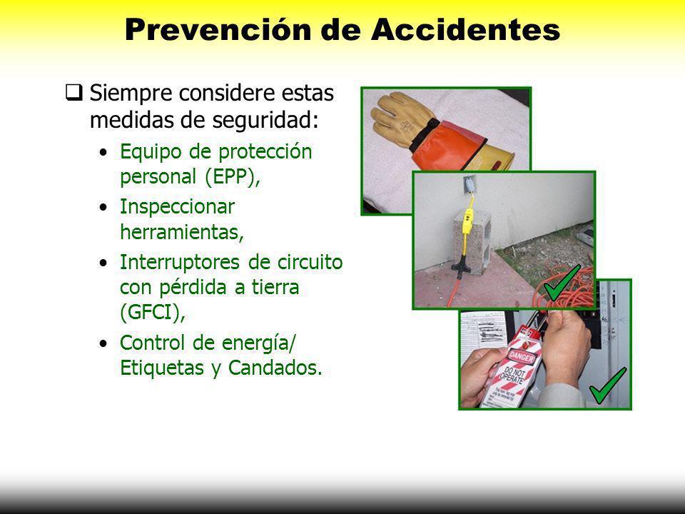 Prevención de Accidentes Una actitud positiva hacía la seguridad ayudara a crear un ambiente más seguro en el trabajo.