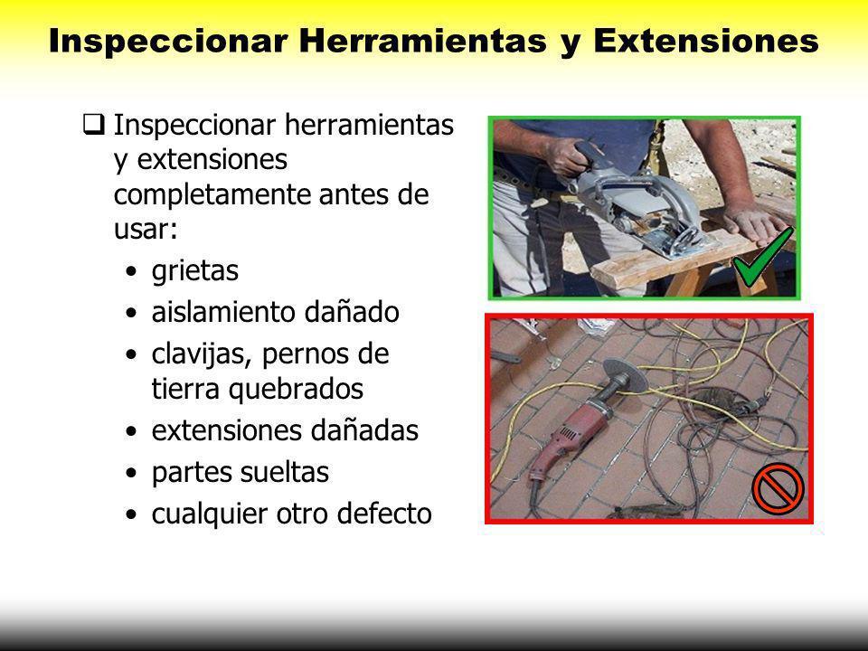 Equipo de Protección Personal ( EPP ) Los cascos ofrecen protección. Los cascos están clasificados para ciertos usos. Los cascos metálicos NUNCA DEBEN