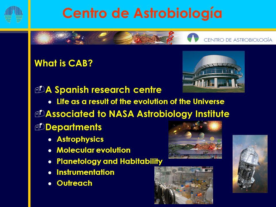 Luis Cuesta (cuestacl@inta.es) Juan Ángel Vaquerizo (jvaquerizog@cab.inta-csic.es) Centro de Astrobiología INTA