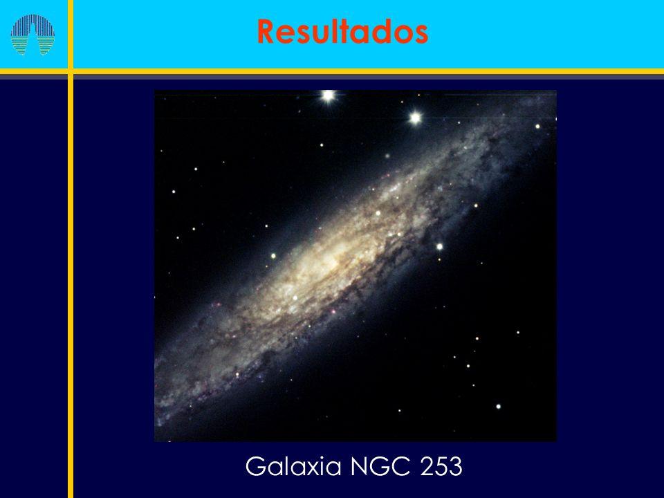 Galaxia NGC 253 Resultados