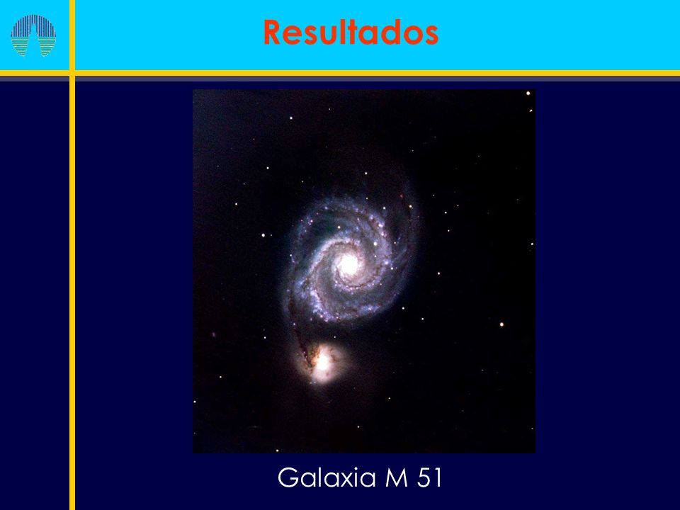 Galaxia M 51 Resultados