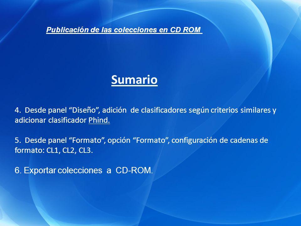 1.Creación de una Colección de documentos HTML. 2.