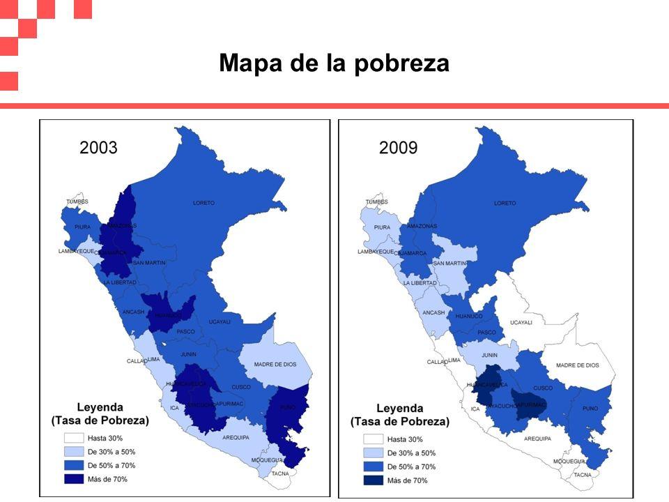Mapa de la pobreza