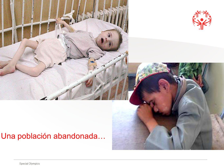 Special Olympics Una población abandonada…