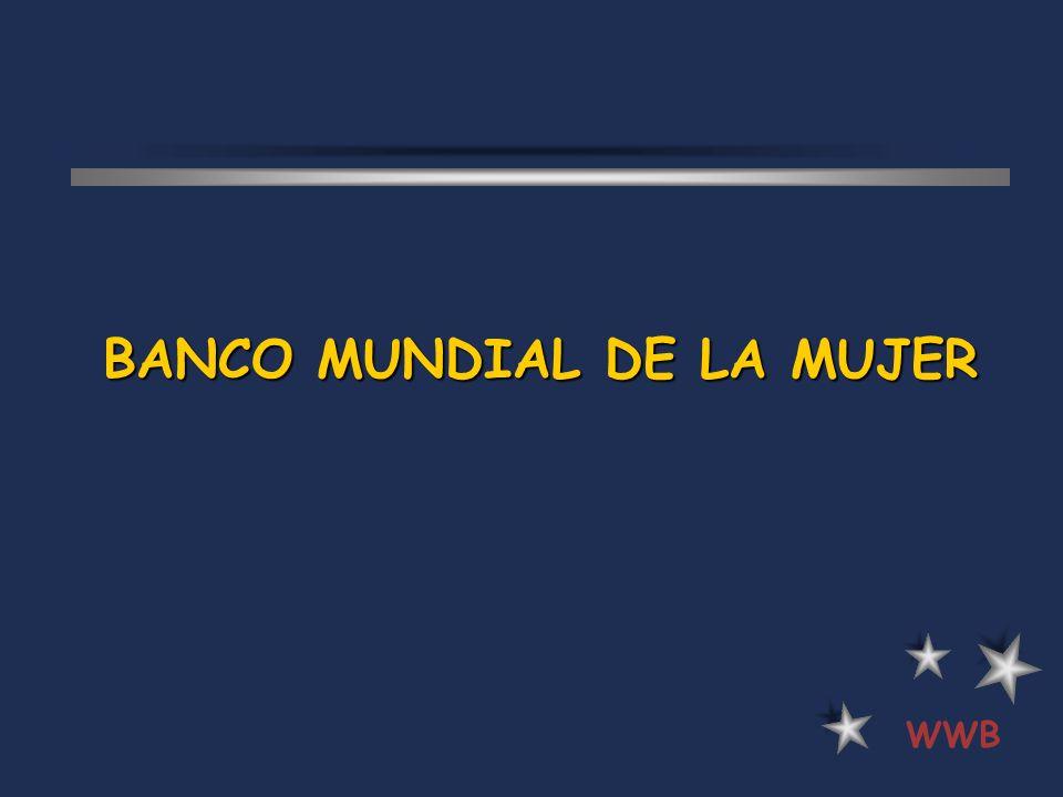 BANCO MUNDIAL DE LA MUJER WWB