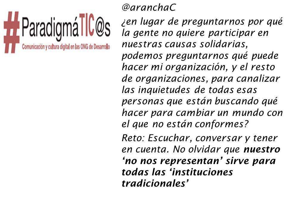 Crisis sistémica = crisis del sector= TiC = Cambios culturales = Cambio de paradigma= OPORTUNIDAD!!!!.