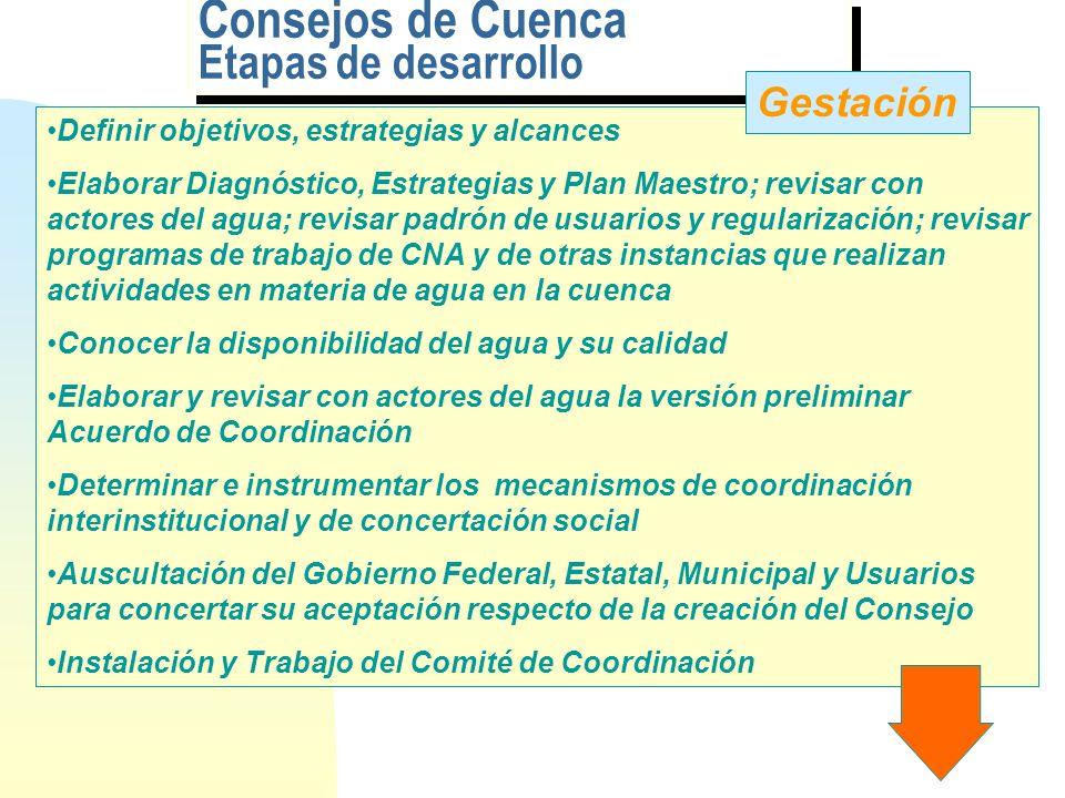 LOS CONSEJOS DE CUENCA EN MEXICO COMISION NACIONAL DEL AGUA titulo.pptCoordinación de Consejos de Cuenca Guillermo Chávez Zárate