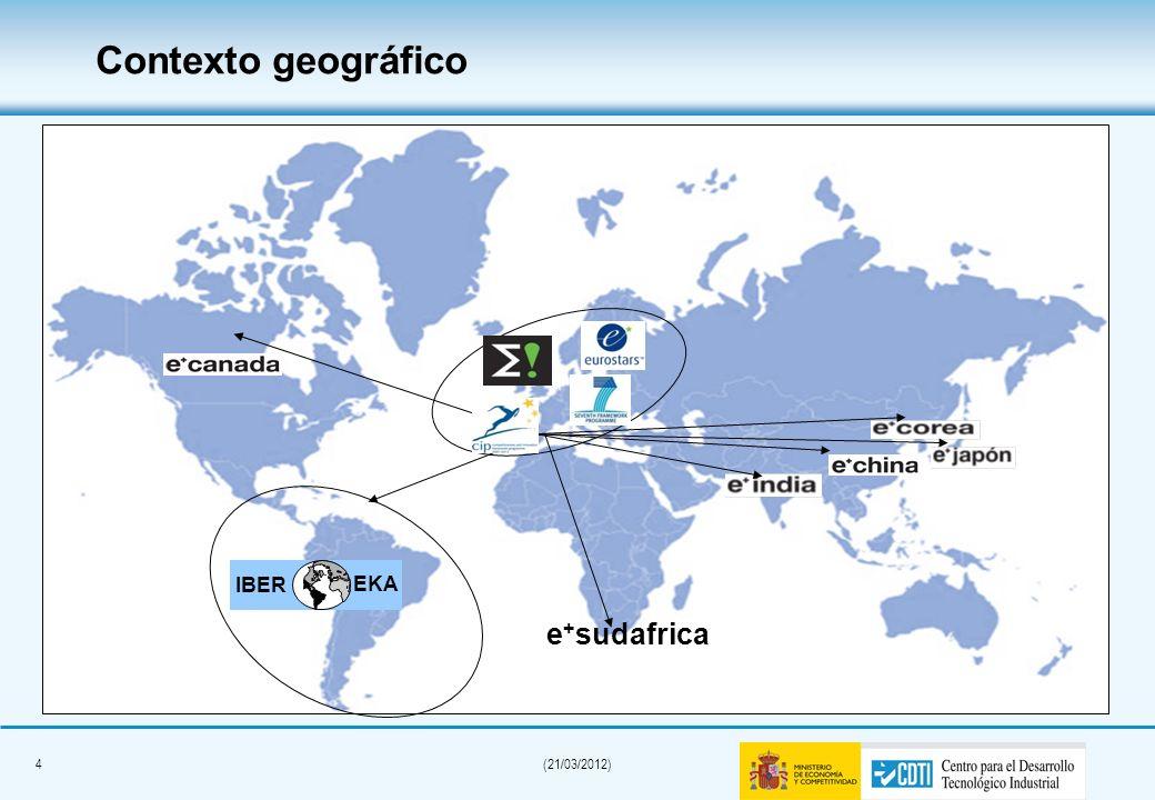 4(21/03/2012) Contexto geográfico IBER EKA e + sudafrica