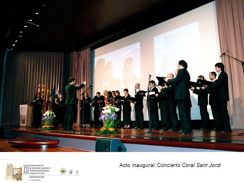 Acto inaugural: Concierto Coral Sant Jordi