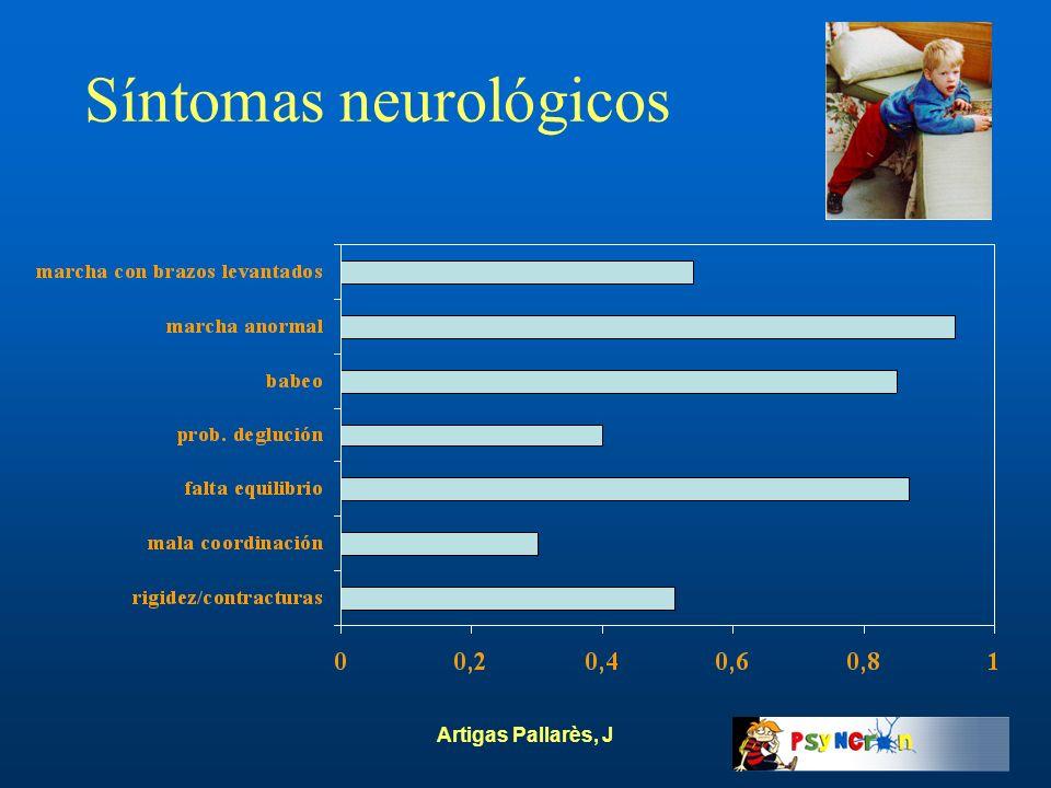 Artigas Pallarès, J Síntomas neurológicos