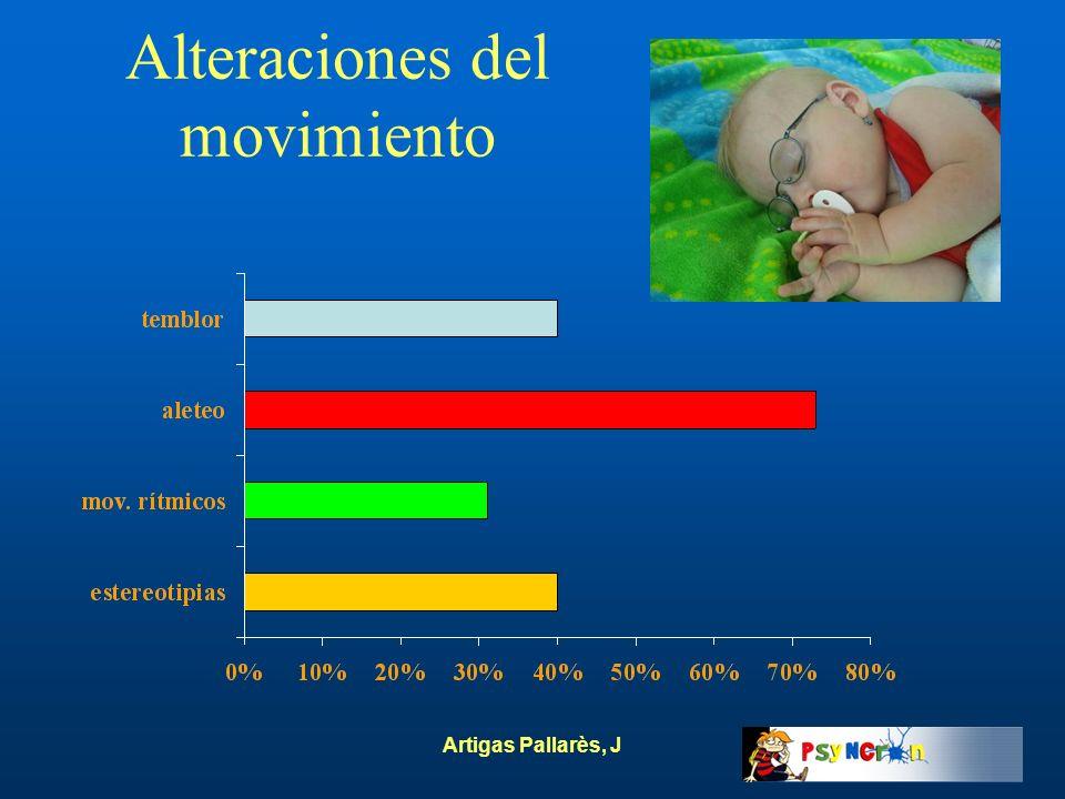 Artigas Pallarès, J Alteraciones del movimiento