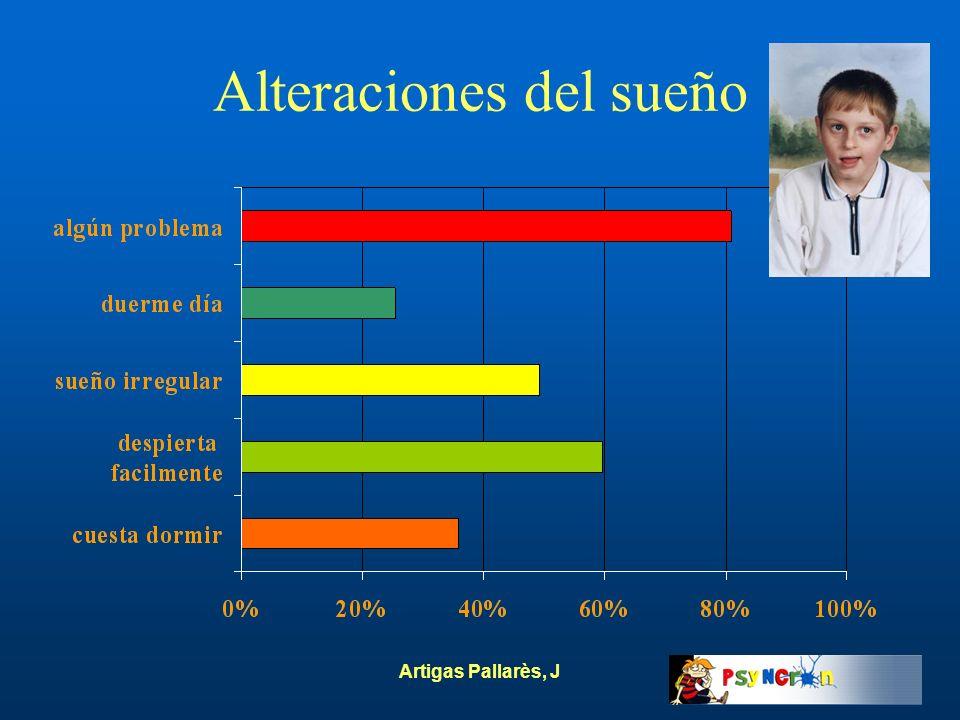 Artigas Pallarès, J Alteraciones del sueño