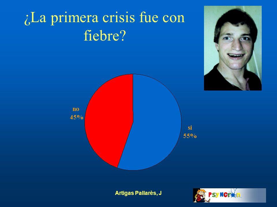 Artigas Pallarès, J ¿La primera crisis fue con fiebre?