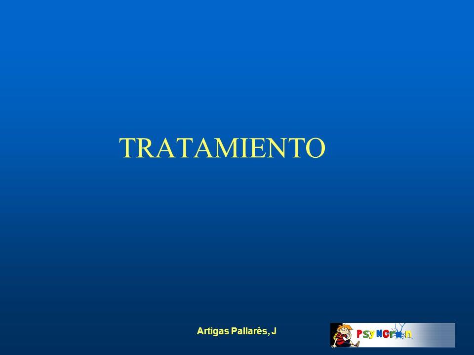 Artigas Pallarès, J TRATAMIENTO
