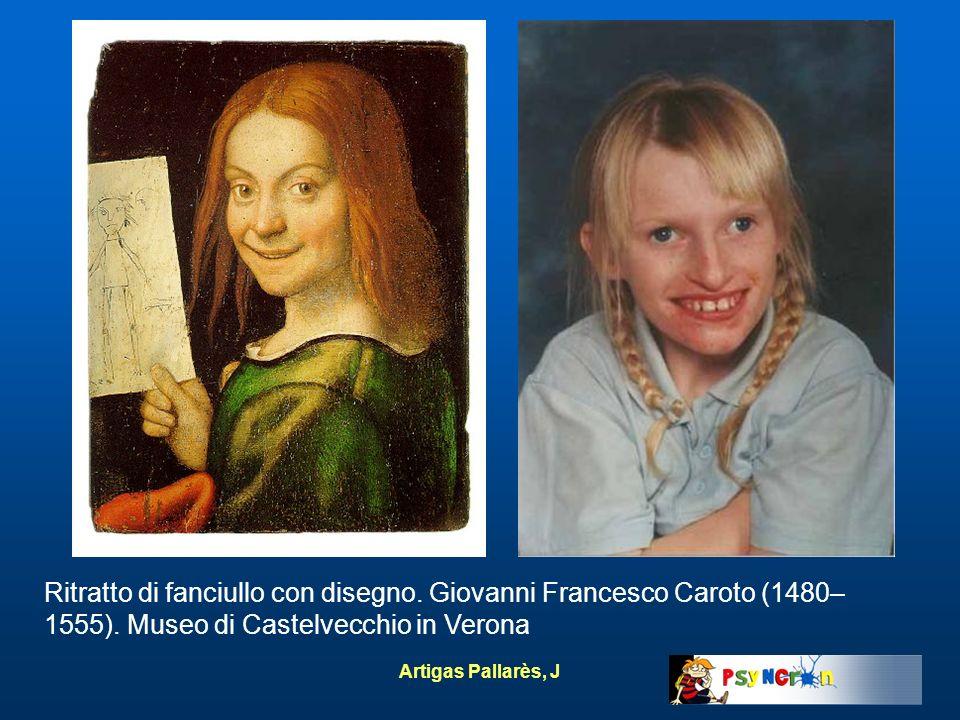 Artigas Pallarès, J Ritratto di fanciullo con disegno. Giovanni Francesco Caroto (1480– 1555). Museo di Castelvecchio in Verona