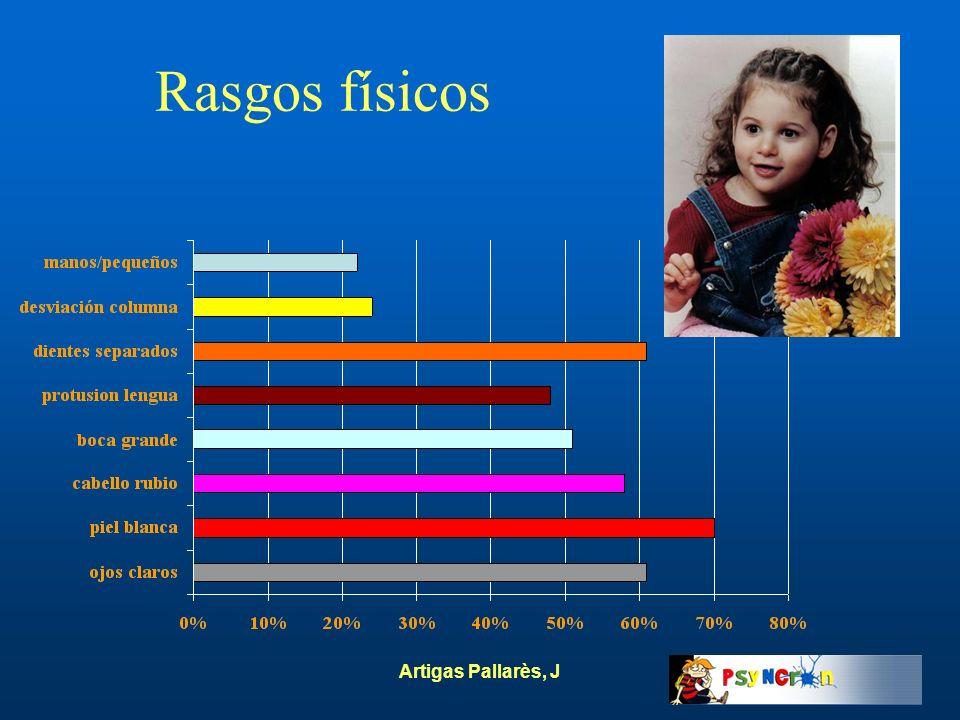 Artigas Pallarès, J Rasgos físicos