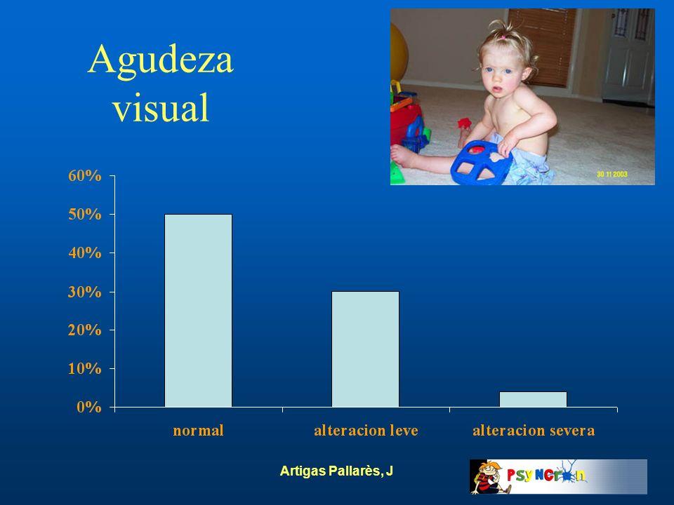 Artigas Pallarès, J Agudeza visual