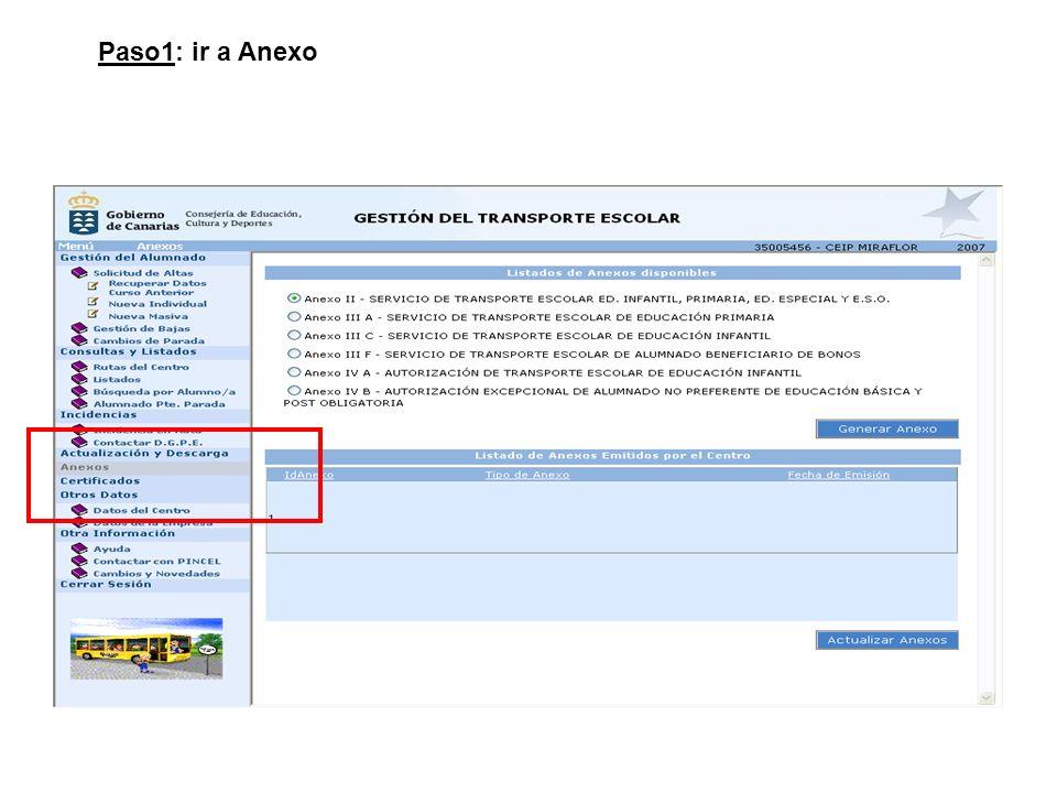 Paso1: ir a Anexo