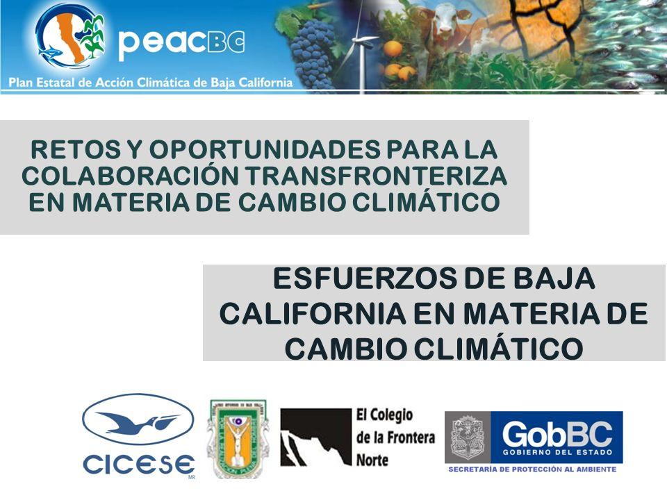 Esfuerzos en México México despliega esfuerzos desde 1992, cuando firmó la Convención Marco de las Naciones Unidas sobre Cambio Climático (CMNUCC).