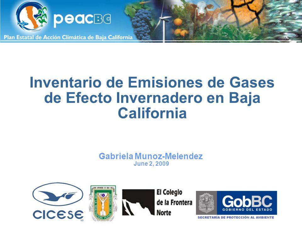 Esquema El papel de Gases de Efecto de Invernadero (GEI) Inventario de Emisiones.