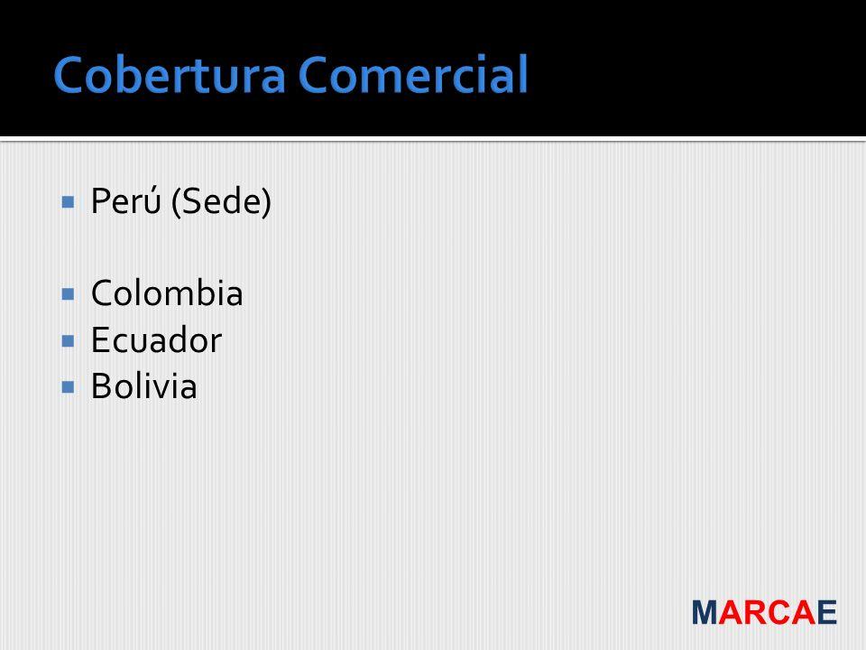 Perú (Sede) Colombia Ecuador Bolivia MARCAE