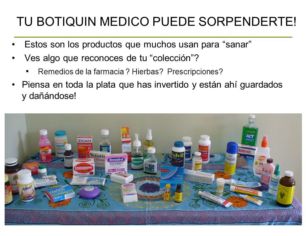 TU BOTIQUIN MEDICO PUEDE SORPENDERTE! Estos son los productos que muchos usan para sanar Ves algo que reconoces de tu colección? Remedios de la farmac