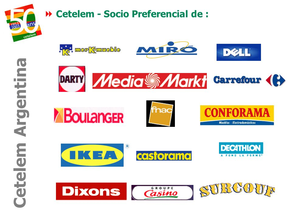 Cetelem - Socio Preferencial de : Cetelem Argentina