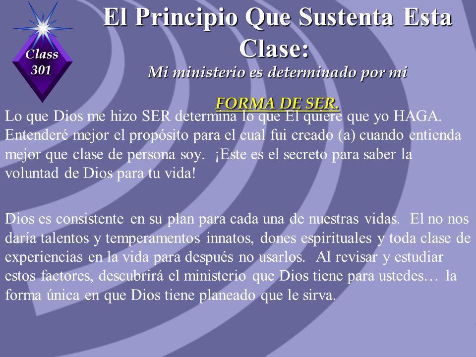 Class 301 ¡EL PROPOSITO DE LOS DONES ESPIRITUALES.
