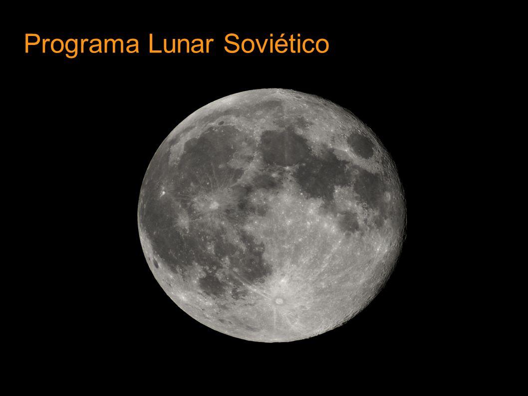 Luna 1 Lanzamiento : Enero 2 1959 Sobrevuelo : Enero 4 1959, 5.995 km Orbita Heliocentrica Experimento gas de sodio, Mag 6.