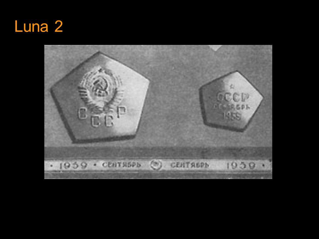 Luna 3 Lanzamiento : Octubre 4 1959 Fotografias lado oscuro de la luna.