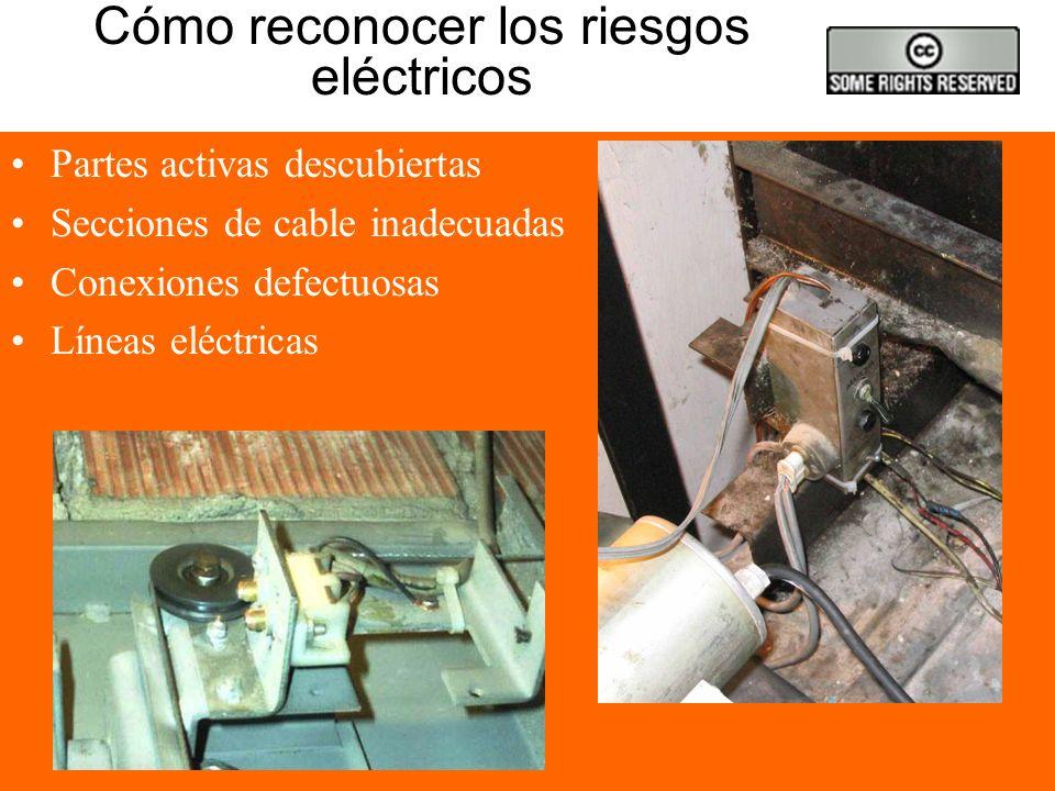 Trabajos eléctricos sin tensión TAKE 5 2.Bloqueo de los aparatos de corte.