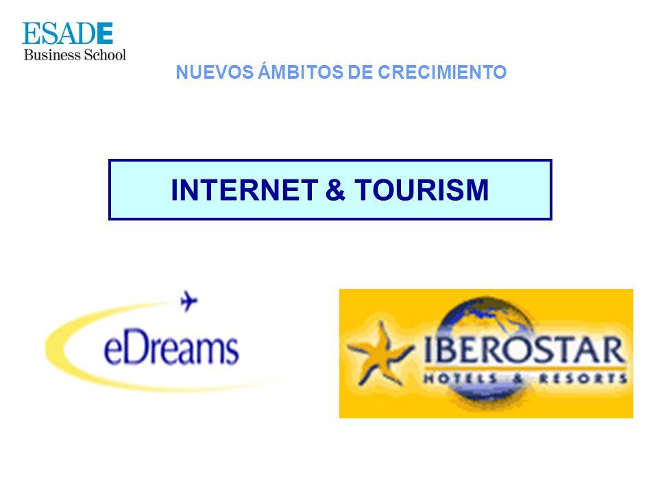 INTERNET & TOURISM NUEVOS ÁMBITOS DE CRECIMIENTO