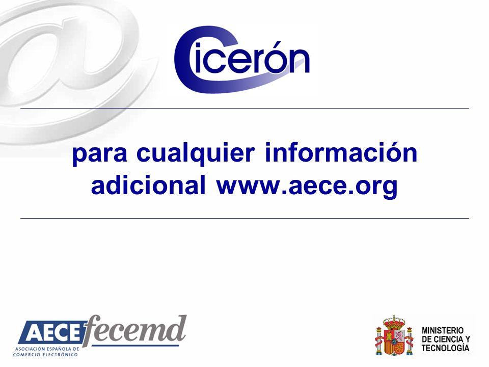 para cualquier información adicional www.aece.org