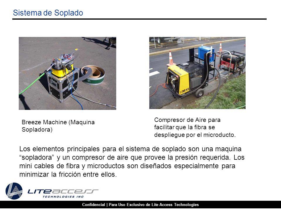 Confidencial | Para Uso Exclusivo de Lite Access Technologies Sistema de Soplado Breeze Machine (Maquina Sopladora) Compresor de Aire para facilitar q
