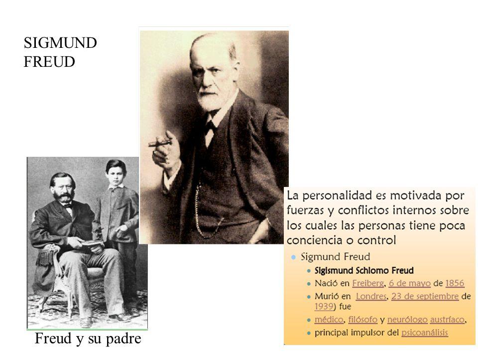 SIGMUND FREUD Freud y su padre