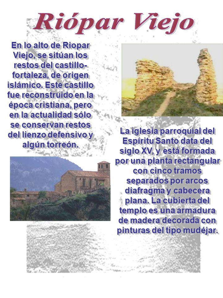 En lo alto de Riopar Viejo, se sitúan los restos del castillo- fortaleza, de origen islámico.