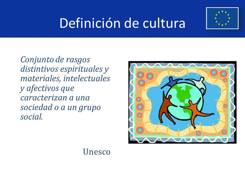 Programa Cultura 2007 - 2013 Finalidad: Desarrollar la cooperación cultural transnacional entre operadores culturales procedentes de los países de la Unión Europea o no europeos que participen en el programa.