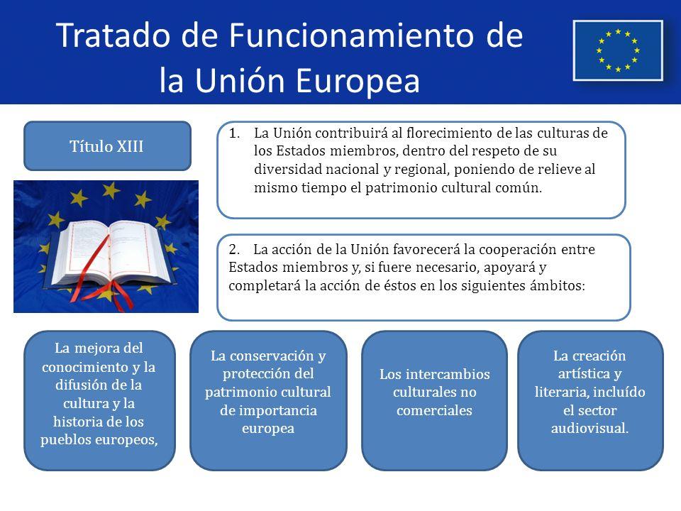 Tratado de Funcionamiento de la Unión Europea 3.