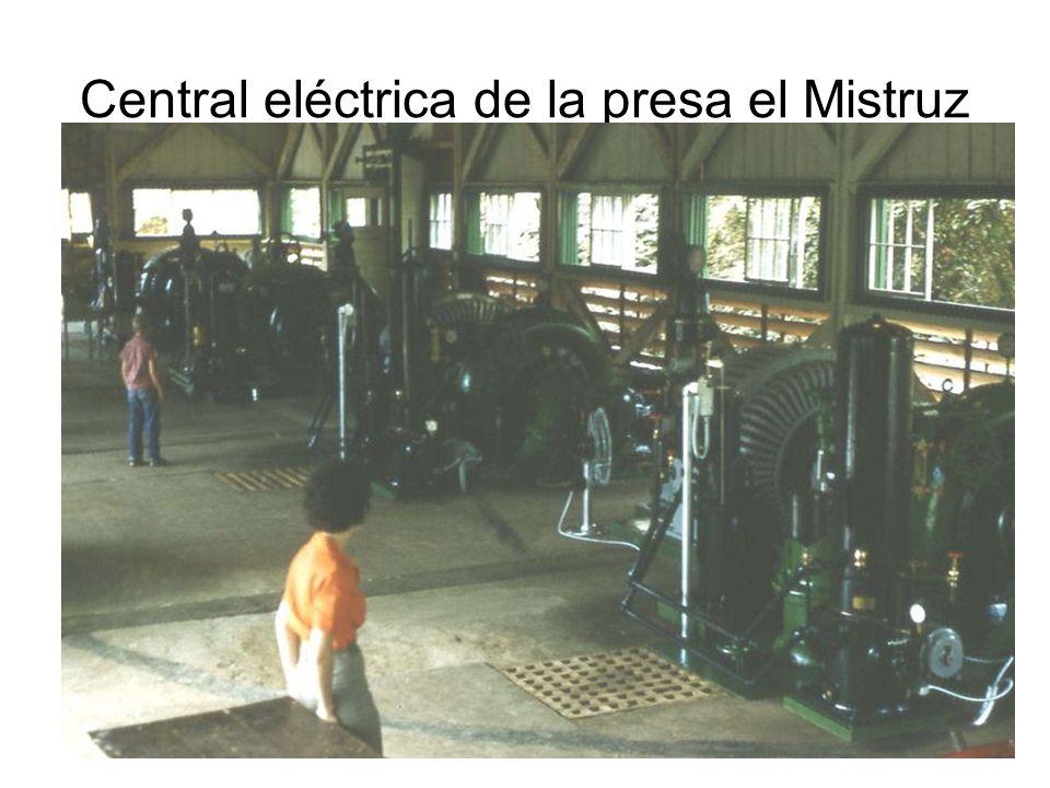 Central eléctrica de la presa el Mistruz