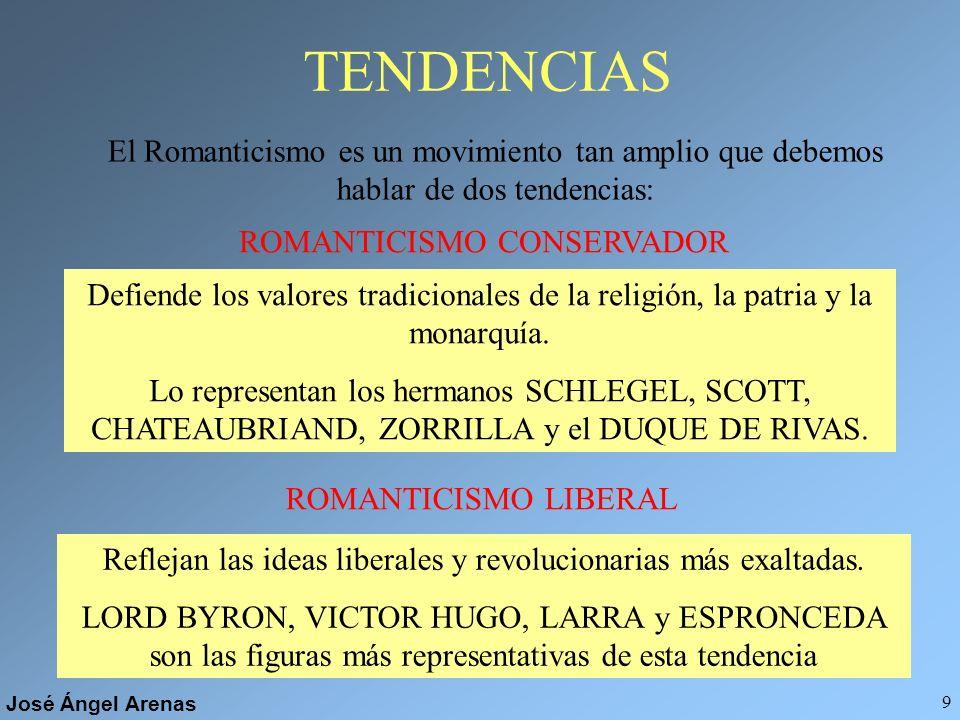 José Ángel Arenas 8 En poesía La libertad en la expresión se traduce en el uso de nuevos metros y estrofas... Pero también se recuperan algunas estrof