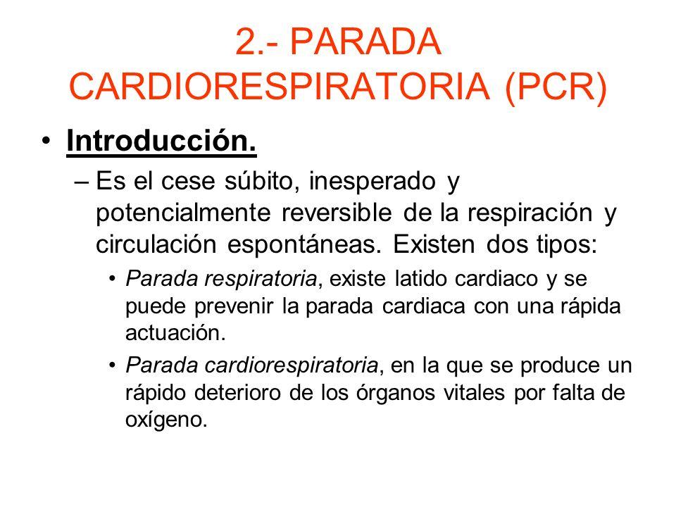 1.- PRINCIPIOS BÁSICOS. Resucitación y mantenimiento de las funciones vitales. - Se realiza mediante RCP( resucitación- cardiopulmonar) Valoración sec