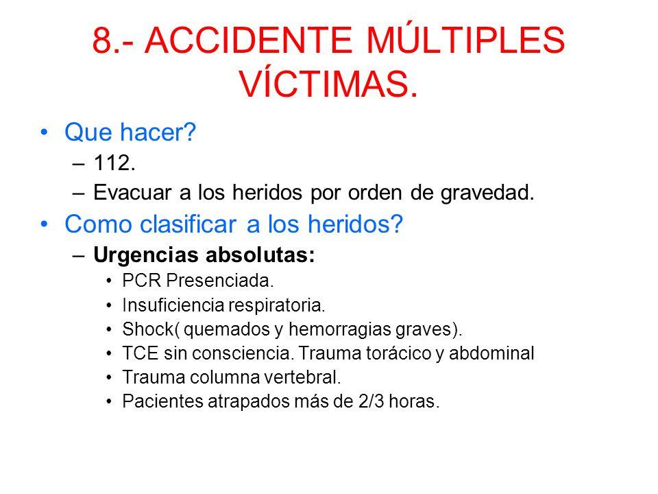 7.- TRAUMA EN EXTREMIDADES. Fractura: lesiones del hueso, cerradas o abiertas con dolor espontáneo, impotencia funcional y deformidad. Posturas anómal